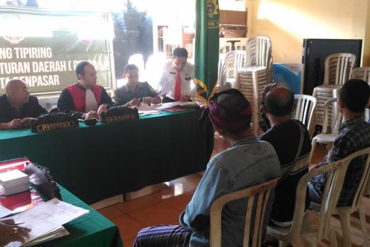 38 pendatang disidang tipiring di Terminal Mengwi