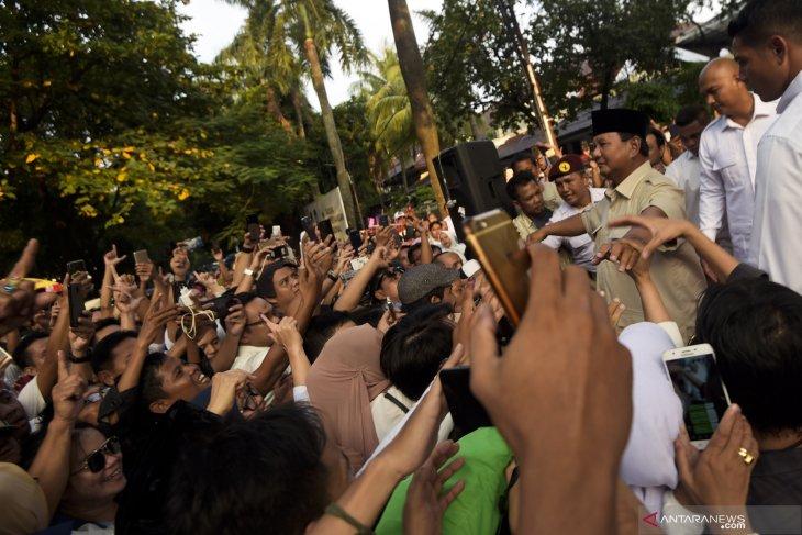 Prabowo raih kemenangan hasil