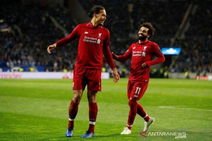 Menang 4-1 di markas Porto, Liverpool melenggang ke semifinal