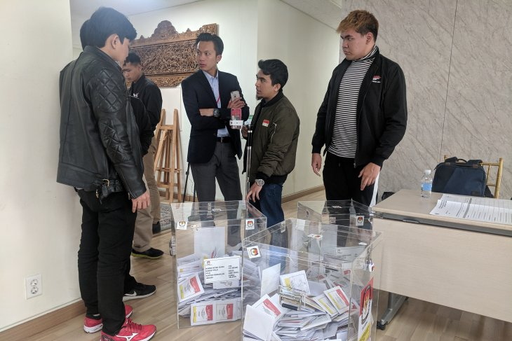 Jokowi-Amin raih 67,6 persen suara di Korea Selatan