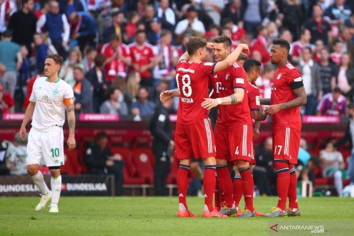 Liga Jerman - Usai gilas Dusseldorf, Munchen pangkas jarak dengan pemuncak klasemen