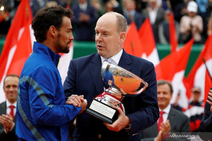 Fabio Fognini juarai Monte Carlo Masters