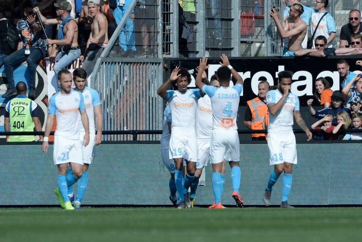 Marseille tundukkan Guingamp 3-1
