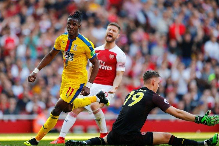 Crystal Palace memermalukan Arsenal 3-2 di Emirates