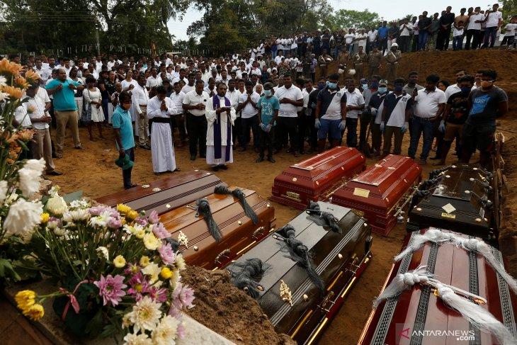 Korban tewas akibat serangan bom di Sri Lanka jadi 359