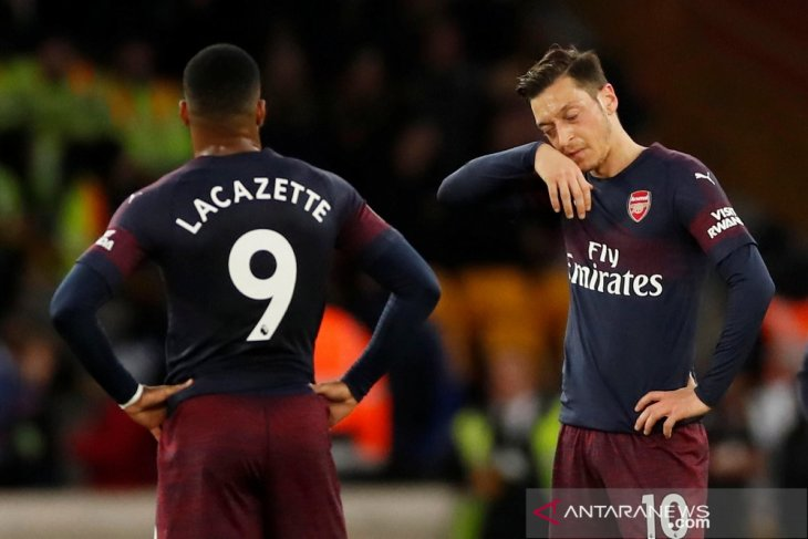 Arsenal hancur lebur di markas Wolverhampton