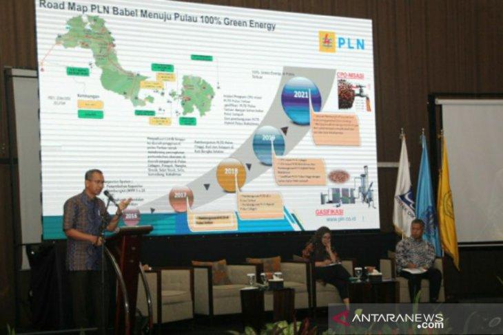 Di forum AFEBI, GM PLN Babel paparkan program pulau 100 persen green energy