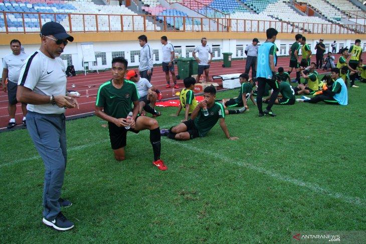 Timnas U19 jalani tiga laga uji coba di Jatim
