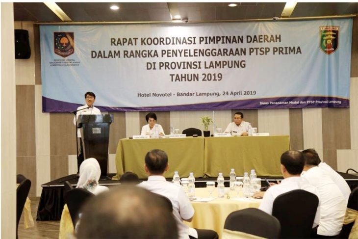 Lampung Perkuat Penyelenggaraan Pelayanan Terpadu Satu Pintu