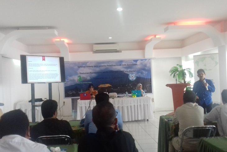 IWIP - dewan pers gelar pelatihan wartawan di Malut