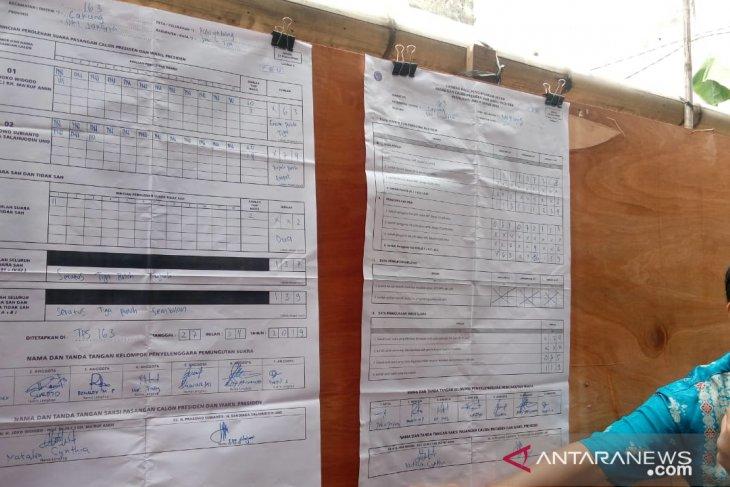 Prabowo-Sandiaga menang coblos ulang di TPS 163 Pulogebang