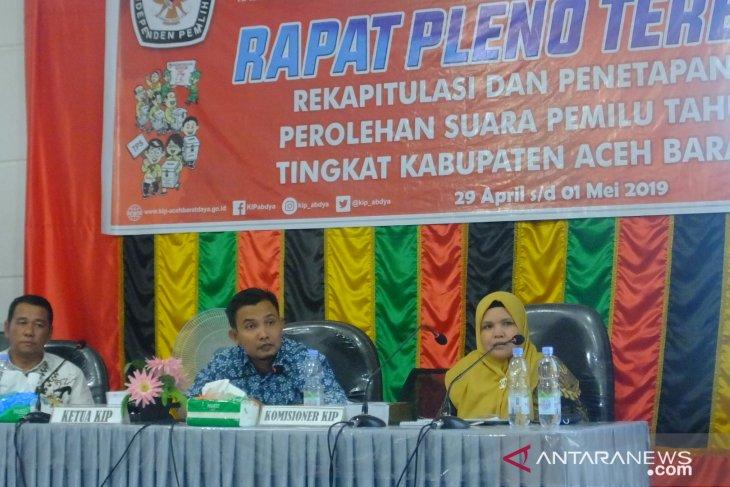KIP Abdya : Prabowo-Sandi unggul 89,30 persen