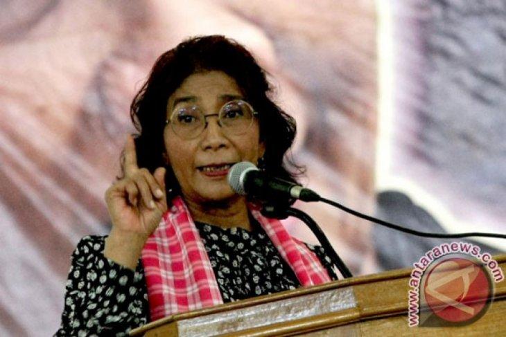 Menteri Susi berharap putusan pengadilan kokohkan penenggelaman kapal