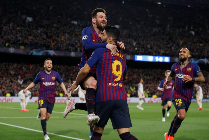 Barcelona hajar Liverpool 3 - 0