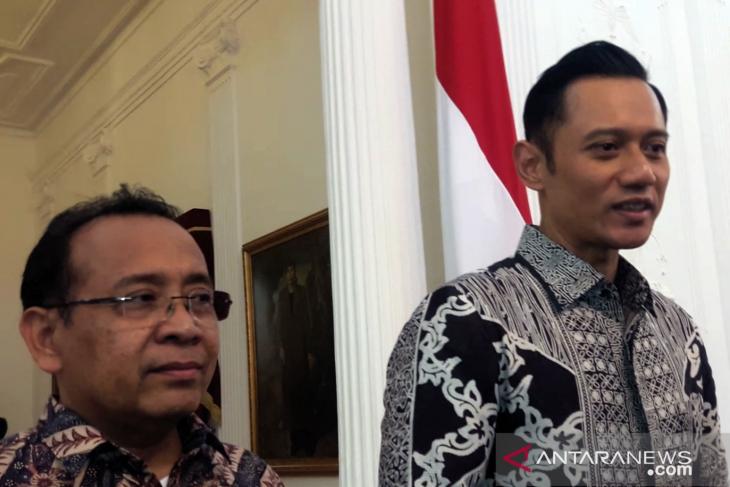 AHY dan Jokowi bahas masa depan Indonesia