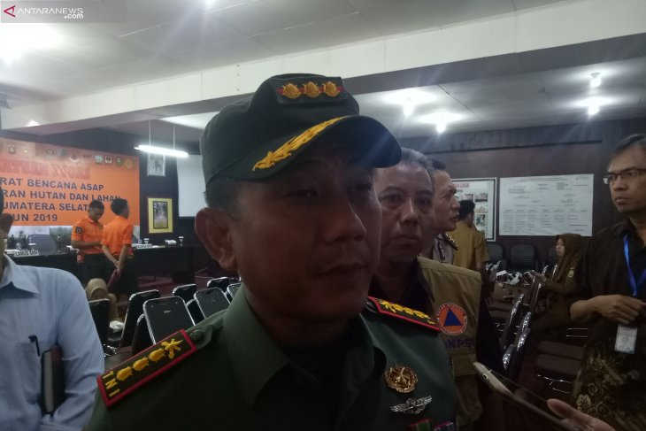 South Sumatra forest fire task force identifies five fire-prone areas