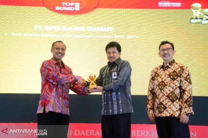 Bank Sumut Raih TOP BUMD Bidang Manajemen Kinerja 2019