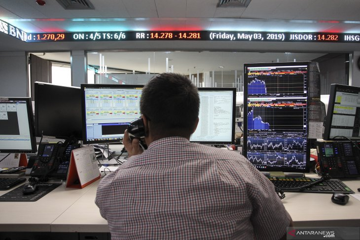 IHSG slides amid spike in Asian markets