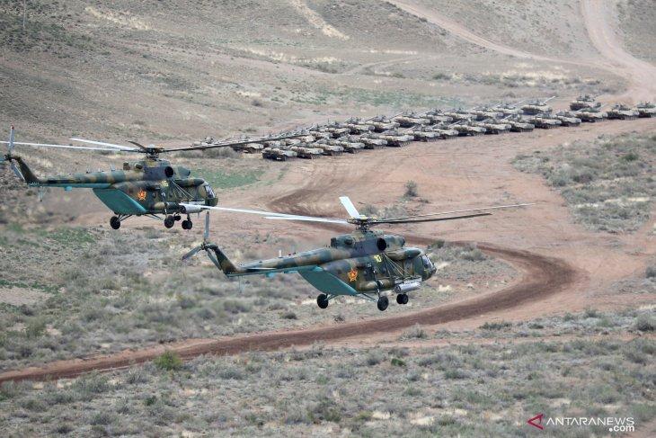 Dansatgas Yonif 725/WRG benarkan lima personelnya tumpangi heli MI 17 hilang kontak
