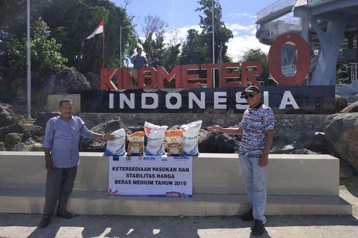 Bulog pastikan ketersedian stok di Nol Kilometer Indonesia