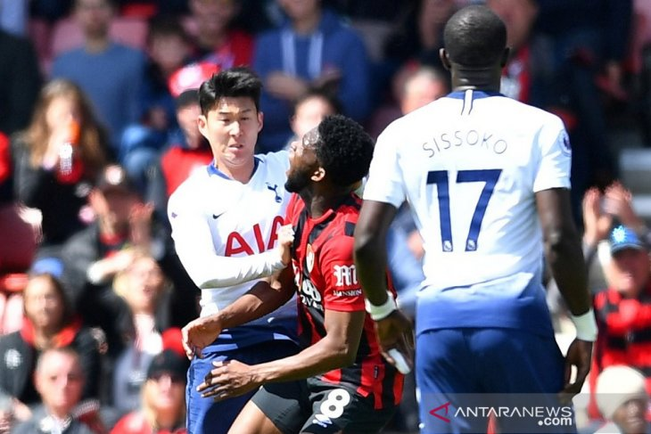Tottenham Hotspur ditundukkan Bournemouth jelang bubar