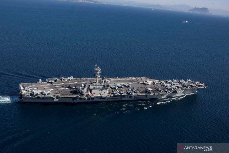 Kapal induk Amerika Serikat akan berlabuh di Indonesia