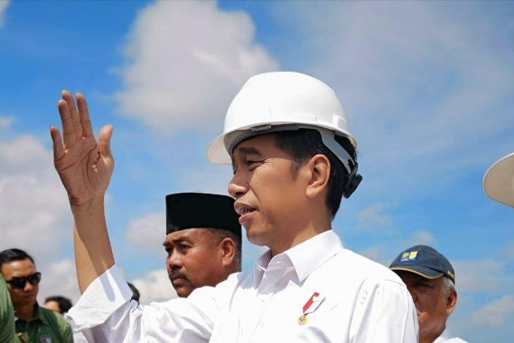 Presiden sebut infrastruktur Kaltim mendukung pemindahan Ibu Kota