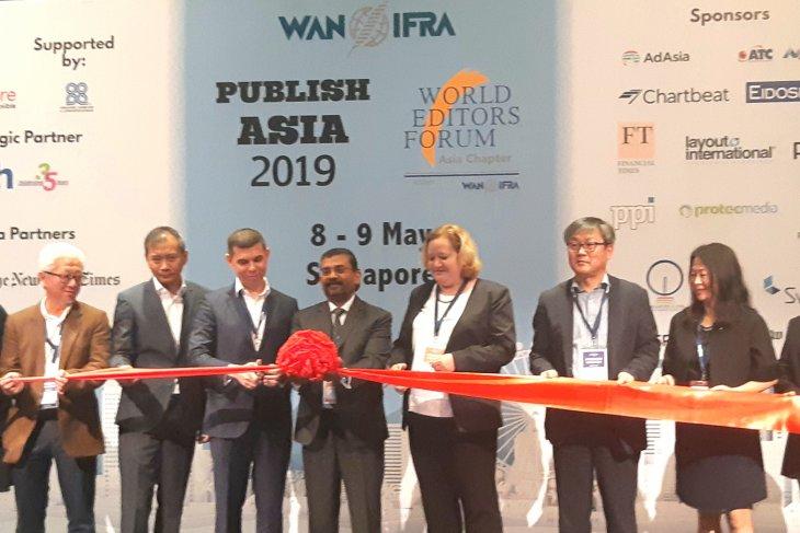ANTARA turut deklarasikan Forum Editor Dunia - Asia di Singapura