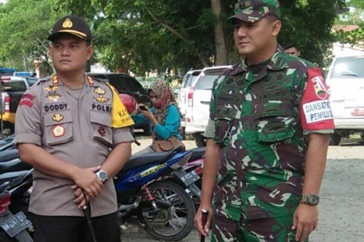 KPU Langkat ucapkan terima kasih kepada TNI-Polri