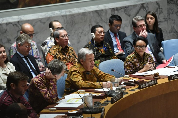 Sekjen PBB puji Indonesia dalam pemeliharaan perdamaian