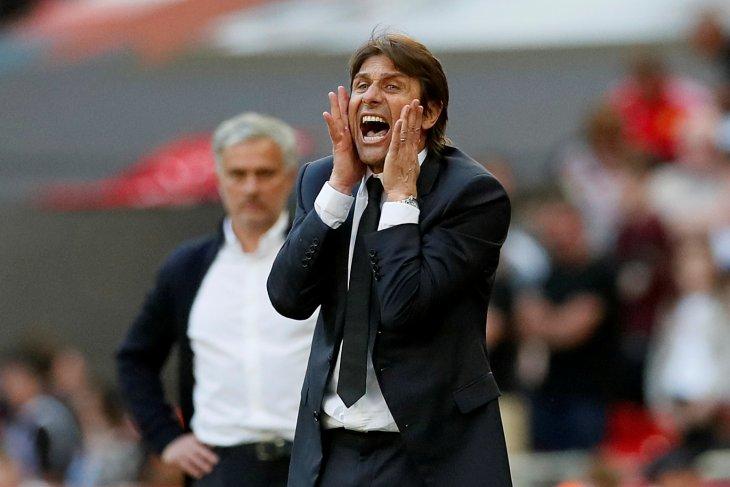 Inter Milan bermain imbang lawan Slavia, Conte pasang badan