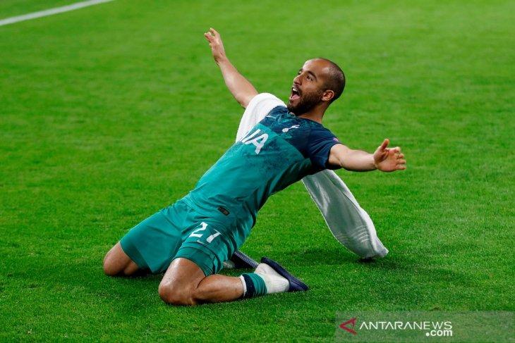 Lucas Moura,  dibuang PSG justeru lebih dulu rasakan final