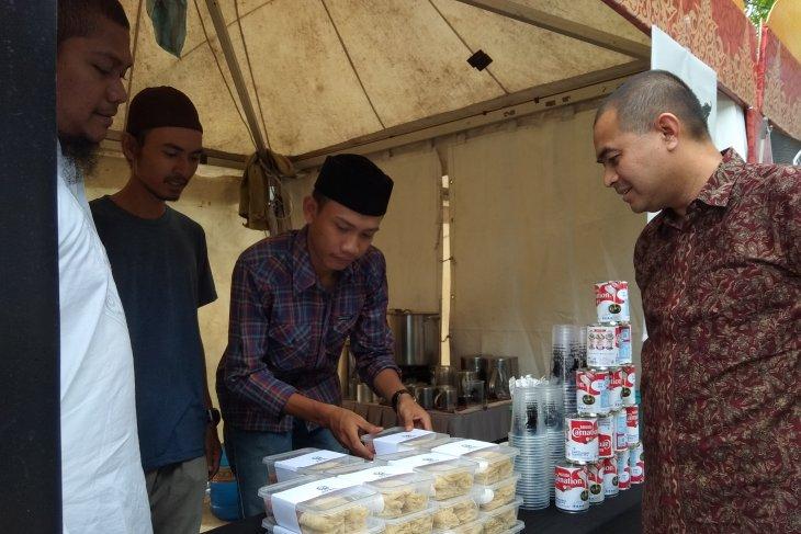 Panitia Festival Ramadhan Aceh gratiskan  100 takjil setiap hari