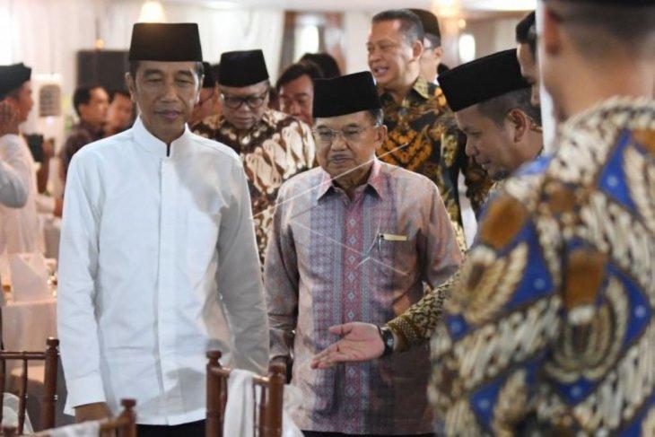 Presiden buka puasa bersama dengan pimpinan lembaga negara