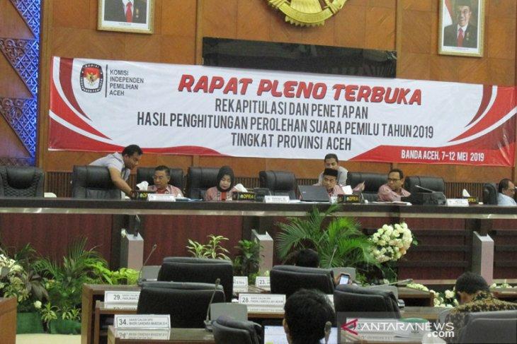 KIP Aceh: Tersisa tiga kabupaten belum rekapitulasi suara