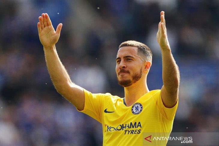 Hazard dibanderol 130 juta poundsterling, Madrid hanya berani 88 juta