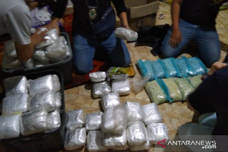 Drugs Agency seizes 200 kg narcotics smuggled from Malaysia