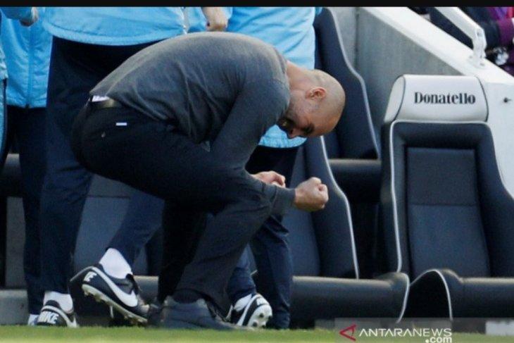 Manchester City raih juara Liga Inggris dua musim beruntun