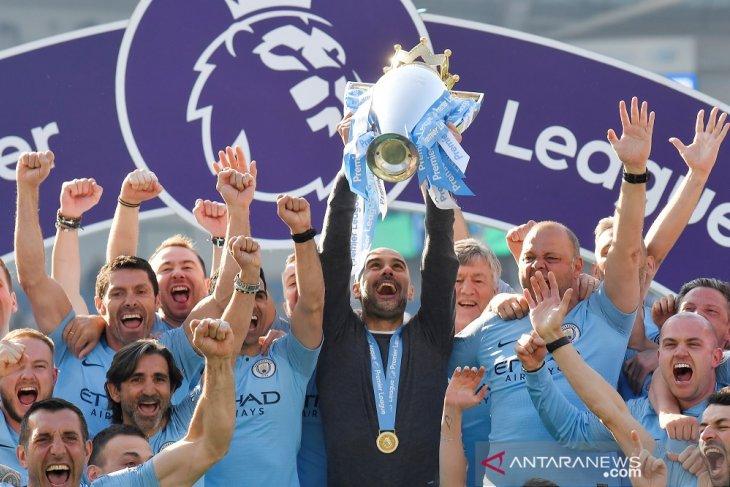 Klasemen akhir Liga Inggris 2018 - 2019, Manchester City juara
