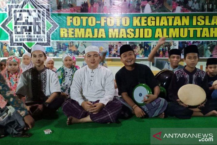 Semarakan Ramadhan, remaja mesjid Al-Muttahiddin Batanghari gelar sekolah hadrah