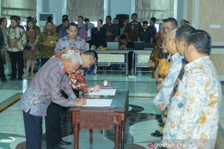Plt Bupati Asahan komitmen pencegahan korupsi terintegrasi bersama KPK