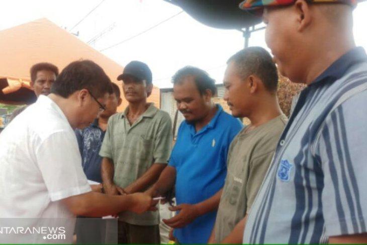 Sofyan Tan berjanji perjuangkan PIP untuk korban kebakaran di Pancur Batu