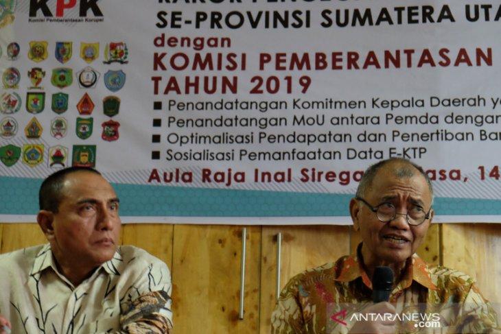 Rakor Pencegahan Korupsi di Sumut
