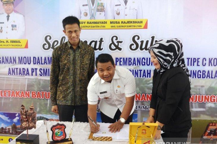 Pemkot Tanjungbalai lanjutkan pembangunan RS Tipe C