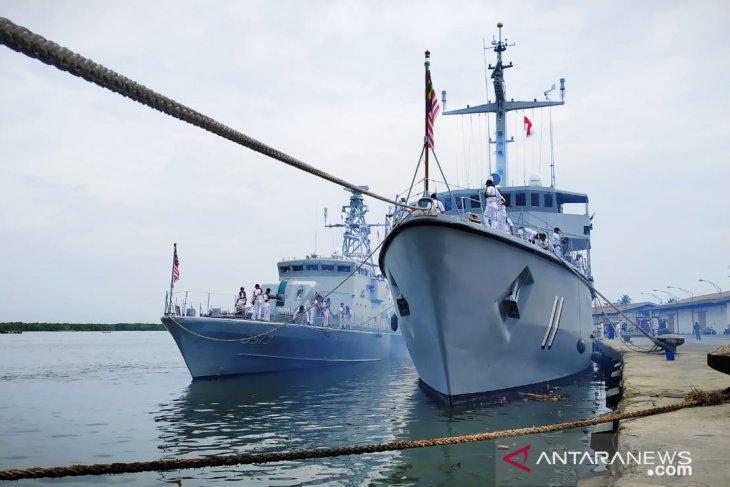 Patroli bersama Indonesia-Malaysia di Selat Malaka resmi berakhir