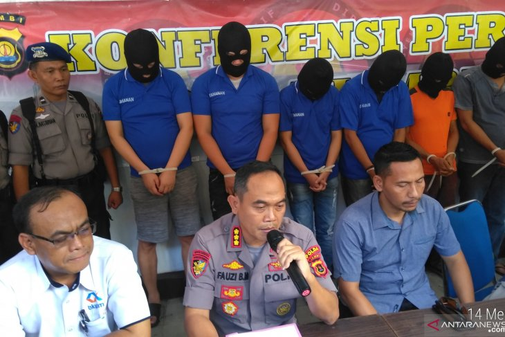 WNA buruan Bareskrim ditangkap di Jambi terkait penyelundupan lobster