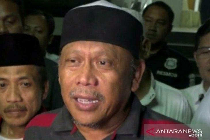 Eggi Sudjana diamankan polisi di hari pelantikan presiden