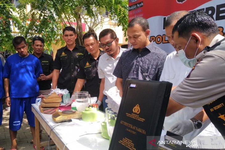 Polresta Banda Aceh tangkap 173 tersangka narkoba sepanjang  2019