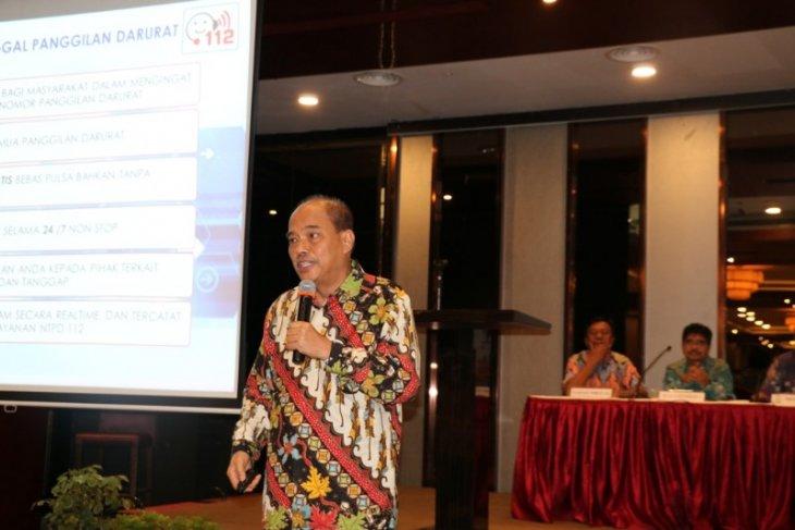 Wali Kota Expose Layanan Tebing Tinggi Call Center 112