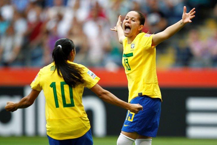 Brazil optimistis hadapi Piala Dunia Putri di Prancis